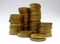 konstrukcja z monet