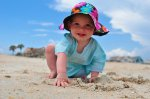 Dziecko na plaży