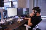 programista podczas pracy
