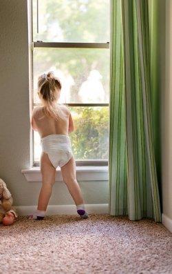 Dziecko w pieluszce